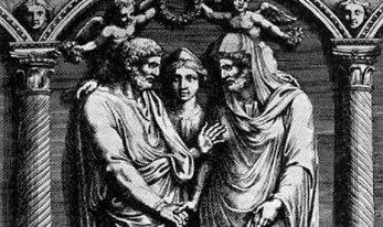 Nero's Wedding to Pythagoras  (with Nero as the bride)