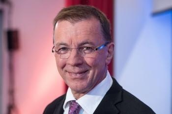 Eberhard Schockenhoff, Theologe und stellvertretender Vorsitzender im Deutschen Ethikrat, spricht am 19. Mai 2015 in München.